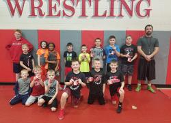 Youth wrestling kickoff