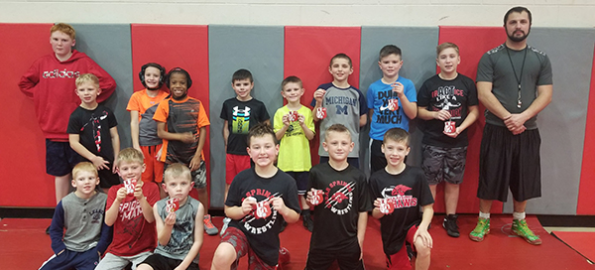 Youth wrestling kickoff