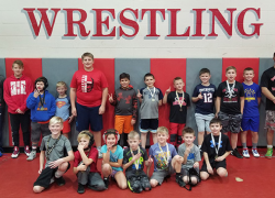 CSY Wrestlers bring back hardware from Comstock Park