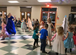 Yule Ball at the library