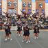 Varsity Cheer team placed third in tough competition