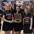 Lady Red Hawk bowlers win conference