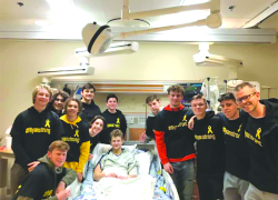 Fundraisers for teen cancer patient