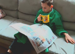 How do you read your newspaper?