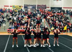 Cheer teams take second at Northview