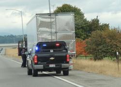 Kent County Deputies confiscate stolen truck full of T.P.