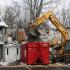Demolition begins on apartment building