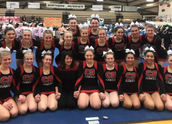 Red Hawk cheer team headed to state finals