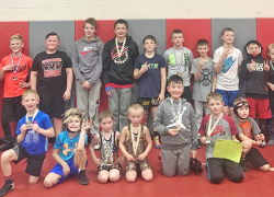 CS Youth wrestlers hit the road