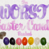 The Worst Easter Candy Ranked