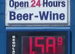 Gas prices still falling