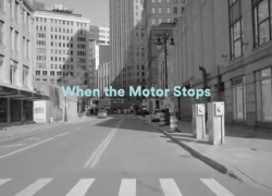 When the motor stops