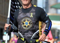 Deputy to honor fallen officers with third run across Michigan