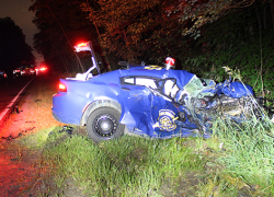MSP Trooper in critical condition after crash