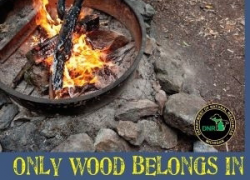 What's your campfire made of?