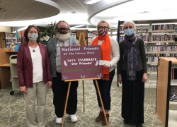 """American Library Association celebrate """"Friends of the Library"""" week"""