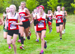 Fast course equals fast times for CS girls cross country