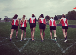 Another strong day of performances for Lady Red Hawks