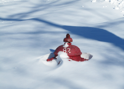 Keep sidewalks and fire hydrants clear of snow and ice