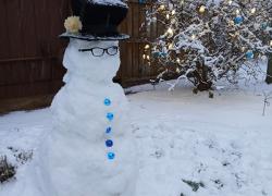 More snowman fun
