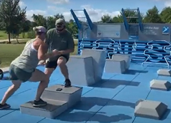 Funding available for outdoor fitness courts across Michigan