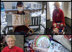 Valentine's Day comes to Sparta Senior Neighbors