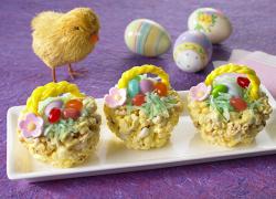 Popcorn Easter Basket