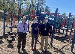 Sixth-grader solves playground problem