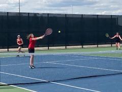 Cedar Springs girls tennis wraps up season
