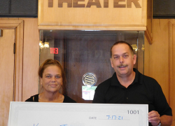 Donation helps Kent Theatre