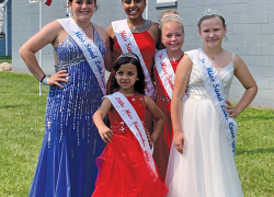 Meet the Miss Sand Lake Queens and court for 2021-2022