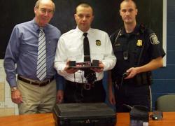 Radar unit donated to Sand Lake Police