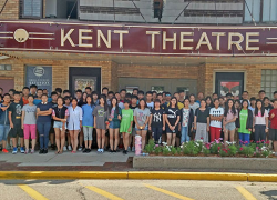 Students visit from Beijing