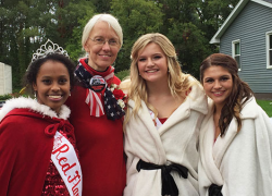 From refugee to Red Flannel Queen