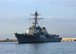 Local hometown hero aboard USS Mason