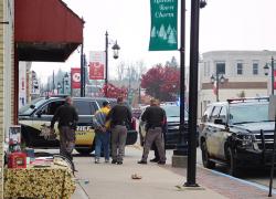 Elderly man jailed on larceny, assault charges