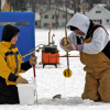 The lure of ice fishing strikes many anglers
