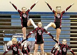 CS Cheer teams take first at meets