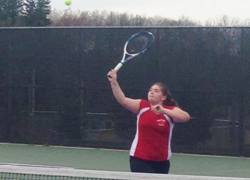 Girls tennis earns wins against Lowell, Greenville
