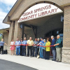 Cedar Springs Community Library Grand Opening