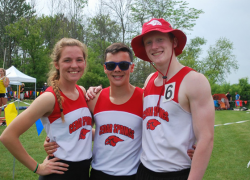 High School Track successful at State