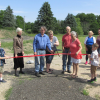 Solon Township celebrates trail with ribbon cutting