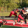 Red Hawks rack up first conference win