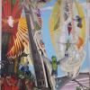 """The Hummingbird Tree"" at the Bob for ARTPRIZE Nine"