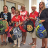 American Legion Auxiliary donate backpacks for back to school