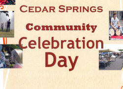 Don't miss the Community Celebration Day this Saturday