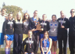 CTA girls cross country take 2nd at state