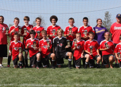 CASSA U14 team wins tournament