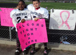 Fifth-grader raises money for breast cancer