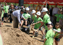 Miracle Field groundbreaking sets goal of three months to first game